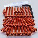 PRO BOLT ENGINE BOLT KIT FITS SUZUKI GSF1200 BANDIT 01-05 ORANGE