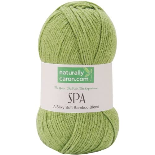 Amazon.com: Caron 356529 Naturallycaron.com Spa Yarn-Green