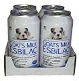 Goats Milk Esbilac GME Liquid Milk Replacer for Puppies with Sensitive Digestive Systems, 11oz cans, 4-Pack