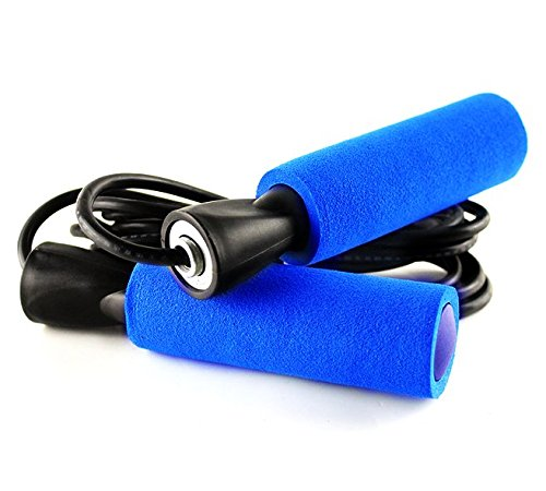 Ziyue Fitness Jump Rope Premium Speed Rope for Crossfit WOD, Boxing and Fitness (Blue) (Reflex Bearings compare prices)