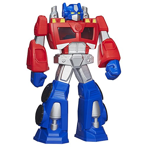 Playskool Heroes Transformers Rescue Bots Epic Optimus Prime Figure front-632233