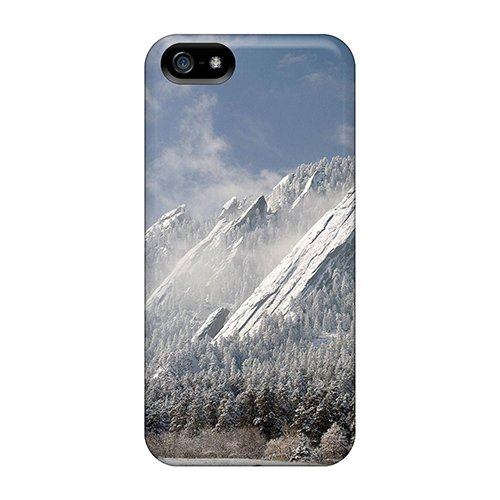 Cute High Quality Iphone 5/5S The Flatirons Boulder Co Case front-392511