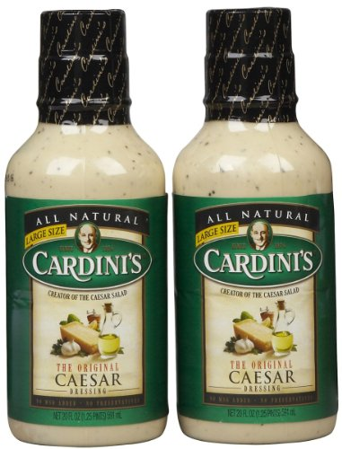 Cardini Original Caesar Dressing, Bottles, 20 oz, 2 pk