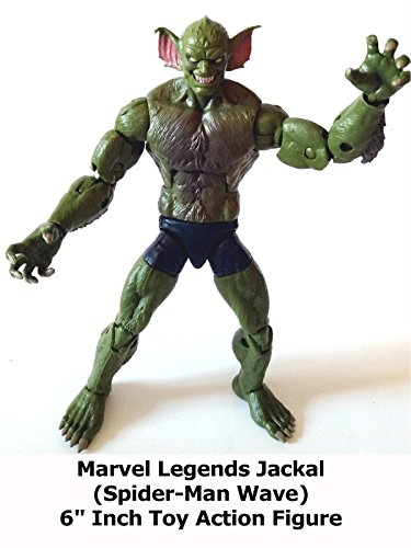 "Review: Marvel Legends Jackal (Spider-Man Wave) 6"" Inch Toy Action Figure"