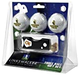Georgia Tech Yellow Jackets 3 Golf Ball Gift Pack with Spring Action Tool