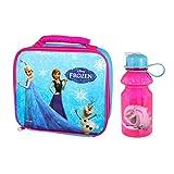 Disney's Frozen Lunch Bag & Water Drinks Bottle Combo! OFFICIAL Back to School Range