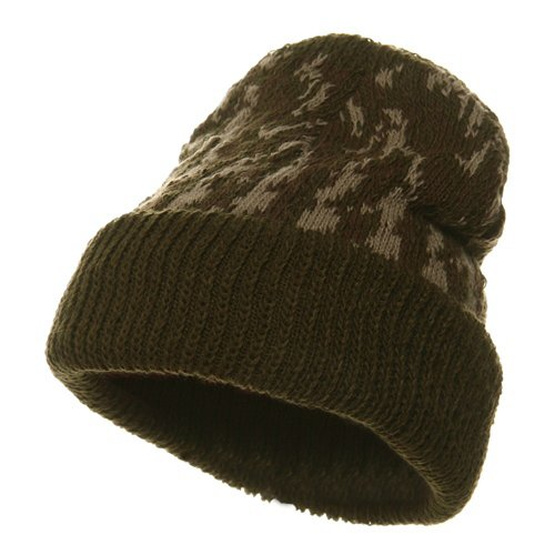 Blaze Liner Camo Cuff Beanie at Amazon.com