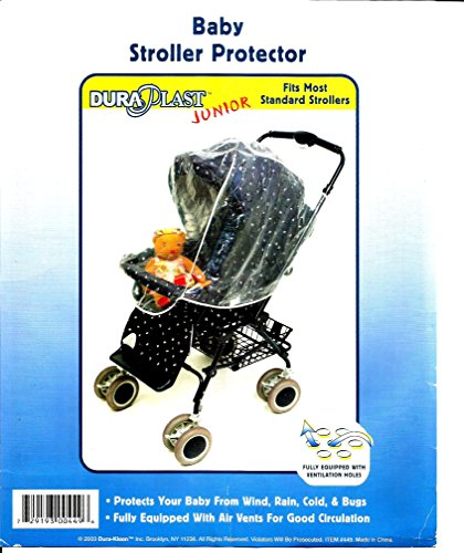 DD Discounts 344300 Transparent Plastic Baby Stroller Protector