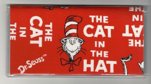 Dr. Seuss Cat In The Hat Red Words Checkbook Cover