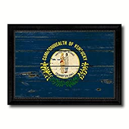 Kentucky State Vintage Flag Collection Western Interior Design Souvenir Gift Ideas Wall Art Home Decor Office Decoration - 23\
