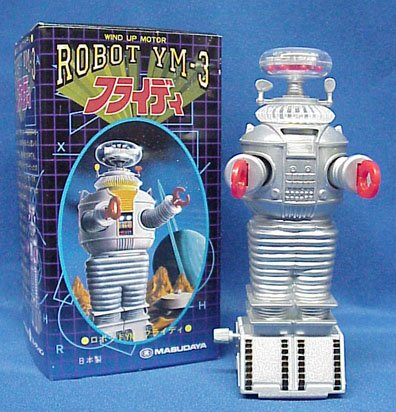 Robot From Lost In Space front-44127