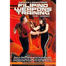 Filipino Weapons: Volume 1 - Intermediate Fighting Techniques