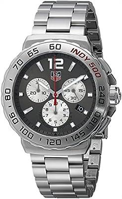 Tag Heuer Men's CAU1113.BA0858 Formula 1 Anthracite Sunray Dial Dress Watch