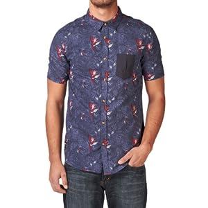 Rip Curl T.t.h Short Sleeve Shirt - Mood Indigo
