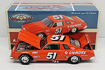 AJ Foyt #51 Gilmore Racing 1976 Chevrolet Laguna NASCAR Diecast Car, 1