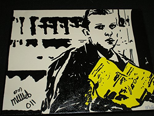 millie-bobby-brown-signed-11x14-canvas-original-art-stranger-things-11-autograph-eggo