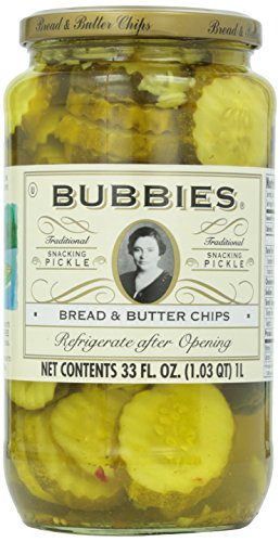 Bubbies, Pickles, Bread & Butter, 33 oz (Bread Butter Pickles compare prices)
