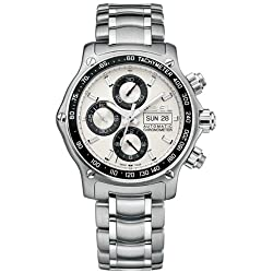 Ebel Men's 9750L62/63B60 1911 Discovery Chronograph Silver Dial Watch from Ebel