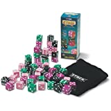 Talicor Stack Giant Deluxe Dice Game Purple Black Pink