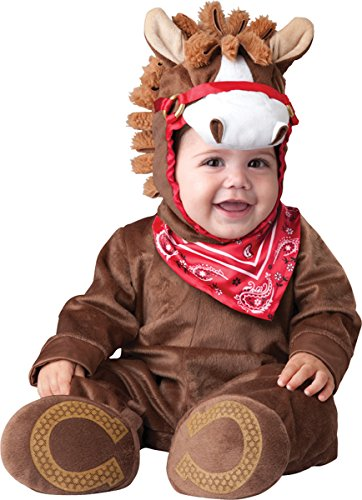 Lil Characters Toddler Jumpsuit With Attached Bandana Hood With Mane Nostrils
