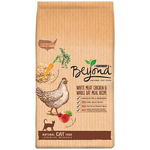 Purina Beyond Natural Dry Cat Food, White Meat Chicken and Whole Oat Meal Recipe, 13-Pound bag, Pack of 1