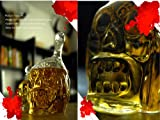 HOPA 650ML Crystal Zombie Head Glass Vodka Bottle Skull Decanter for Party