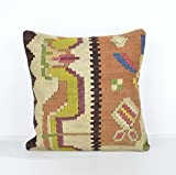 Decorative Pillows, KP922, Designer Pillows, Kilim pillow, Bohemian Decor, Wool Pillow, Bohemian Pillow, Accent Pillows, Throw Pillows