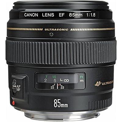Canon EF 85mm f/1.8 USM - camera lenses (Telephoto, Canon EF, Black)