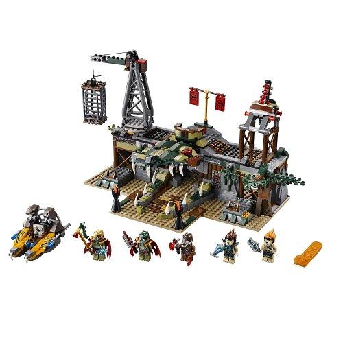 Imagen de Lego Leyendas de Chima 70014 Pantano Hideout Croc