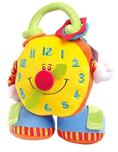 Tl Baby Toys,big Clock with Soft Mirror & Vibration,baby Toys Educational by TL
