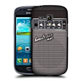 Head Case Designs Grey Distortion Guitar Amp Hard Back Case Cover for Samsung Galaxy S3 III mini