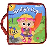 Lamaze Cloth Book, Emily's Day (Discontinued by Manufacturer)