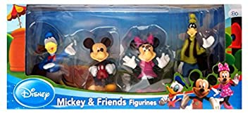 Mickey & Friends - 4 Figurines