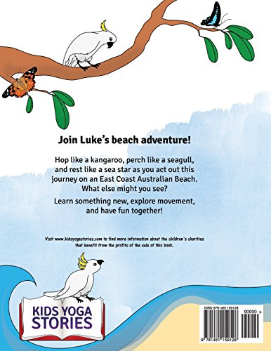 Luke's Beach Day: A Fun and Educational Kids Yoga Story (Kids Yoga Stories)
