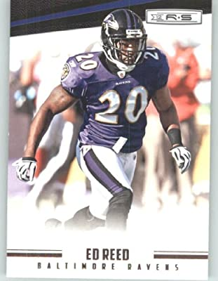 2012 Panini Rookies and Stars Football Card #15 Ed Reed - Baltimore Ravens (NFL Trading Card)