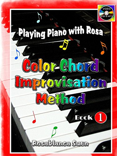 Learn Piano - Color Chord Improvisation Volume 1  - Play Hymns with My Piano Method