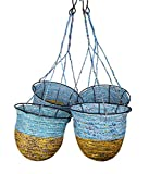Sutra Decor Lowe's Recycled Candy Wrapper Garden Hanging Basket Set Of 4