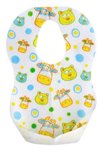 Munchkin Travelware Disposable Bibs - 72 Pack