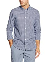 Tommy Hilfiger Camisa Hombre Faybe Chk Sf3 (Gris Claro)
