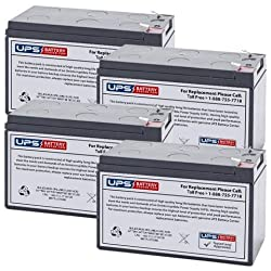 OR1500LCDRM2U Compatible - Replacement Battery Set by UPS Battery Center