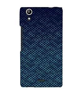 EPICCASE Blue Bubbles Mobile Back Case Cover For Micromax Canvas Selfie Lens Q345 (Designer Case)