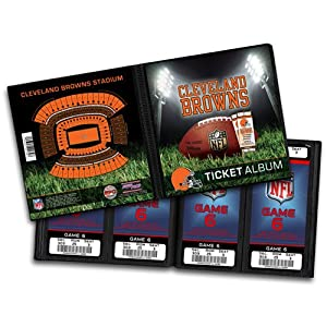 NFL Cleveland Browns Ticket Album by That