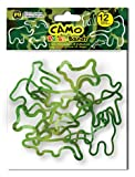 Camouflage Animals Rubba Bandz Rubber Bands Bracelets 12pk