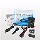 BoCID USA Car Digital TV Receiver Tuner Car ATSC Set Top Box for Car dvd player or LCD monitor