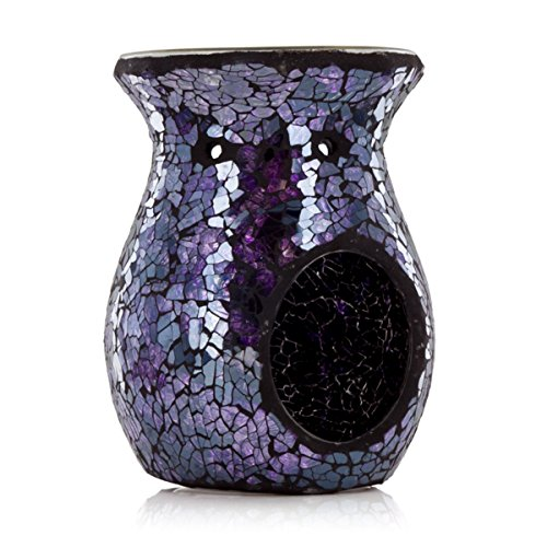 Ashleigh & Burwood - Classic Mosaic Oil Burner - Charmed (Blue Wax Burner compare prices)