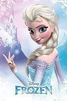 Gb eye ltd frozen - poster reine des neiges - 61 x 91cm - elsa