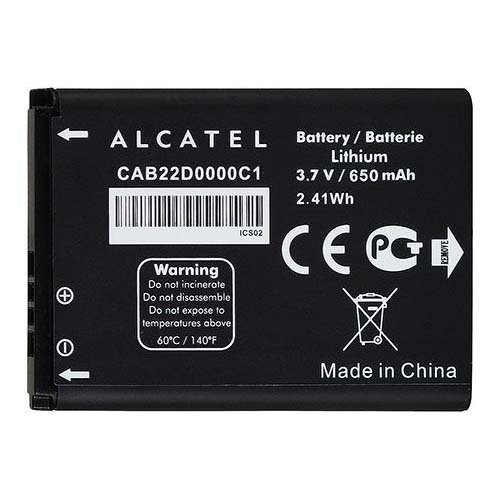 Alcatel CAB22D0000C1 650mAh Battery