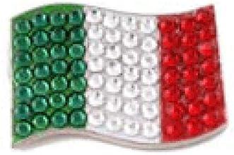 Bonjoc Ball Marker and Hat Clip Italy  Italian Flag