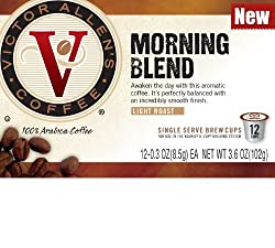 72 Count Victor Allen's Coffee Single Serve Coffee Cups for Keurig K-cup Brewers (NOT 2.0 or VUE) by Trilliant Food & Nutrition