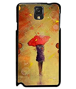 Fuson 2D Printed Girly Designer back case cover for Samsung Galaxy Note 3 - D4350